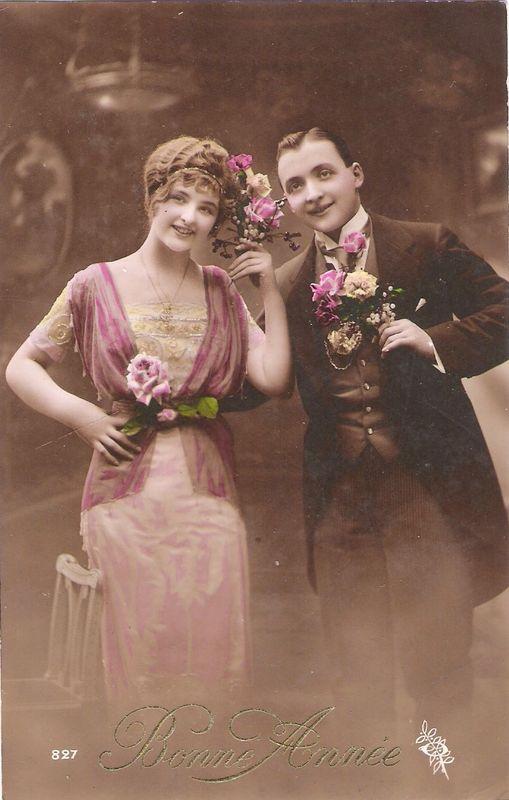 Carte Alfred et Marie 9 janvier 1916