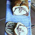 Gâteau marbré maison tout moelleux
