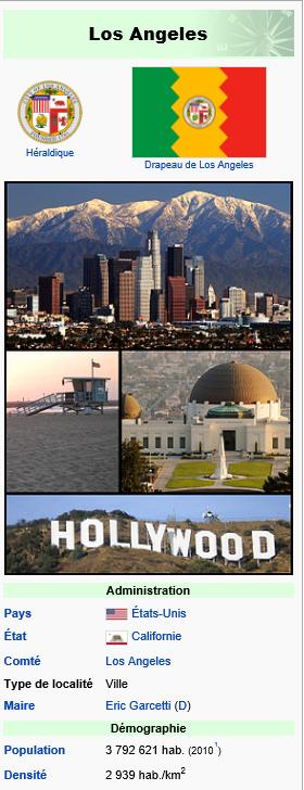 LOS ANGELES - HISTOIRE 1