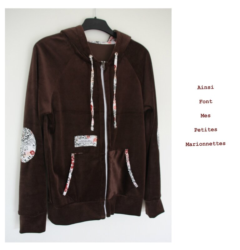 veste velours marron 1