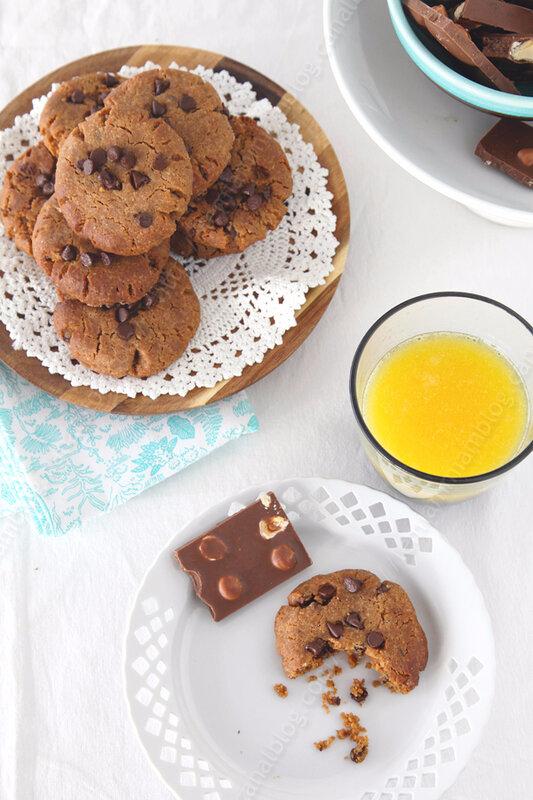 cookies au beurre de cacahuete Nigella Lawson 00004 LE MIAM MIAM BLOG