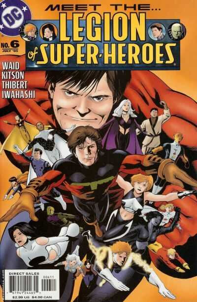legion of super-heroes 2005 06