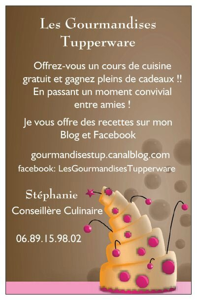 Les Gourmandises Tupperware