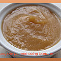 Compote pomme coing banane