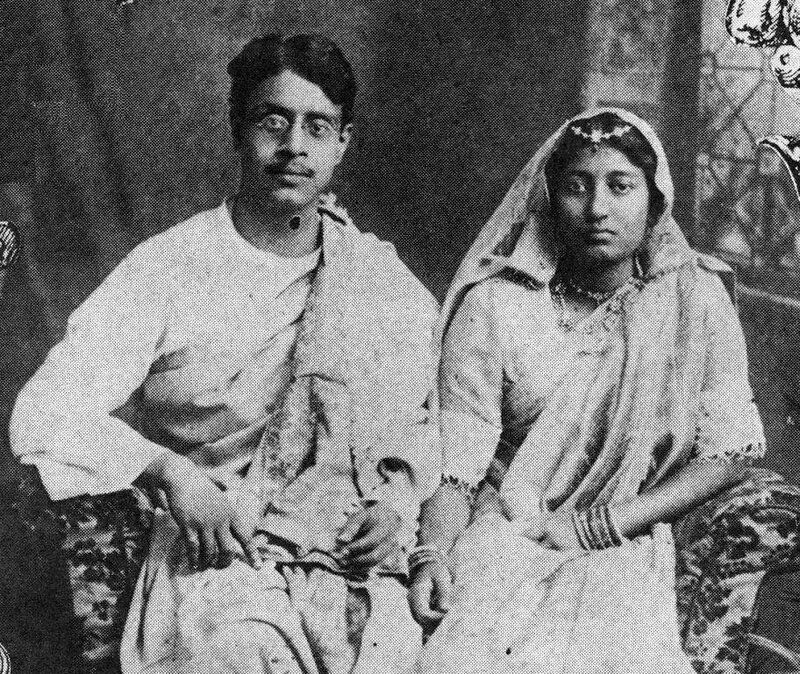 Sukumar_Ray_and_his_wife