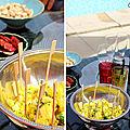 Ananas à l'ail et à la coriandre, pour l'apéro !