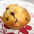 *** muffins aux poires et pépites de chocolat ***