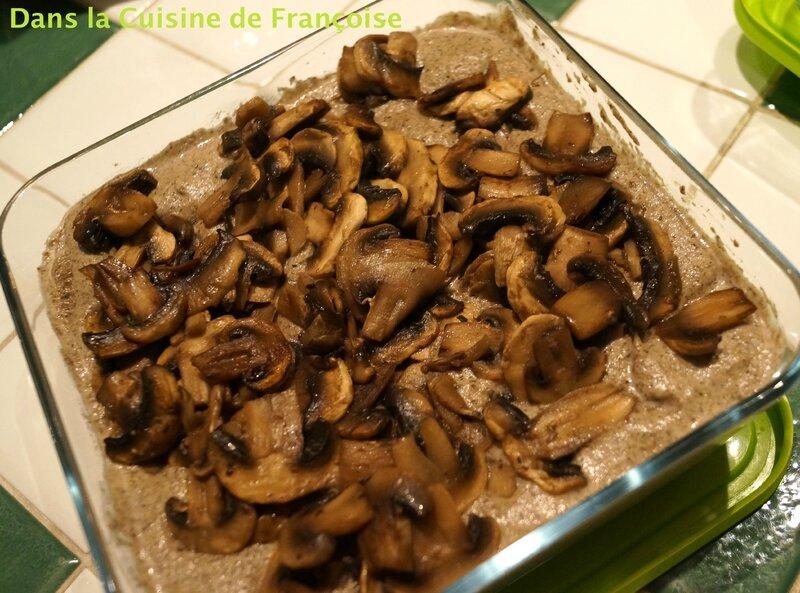 Sauce aux Champignons et Foie Gras