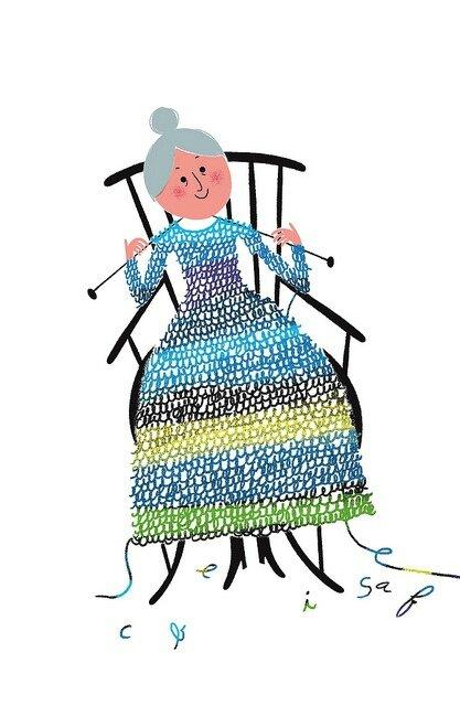 mamie tricote