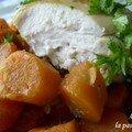 Poulet aux carottes confites