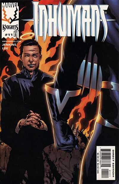 marvel knights inhumans 11