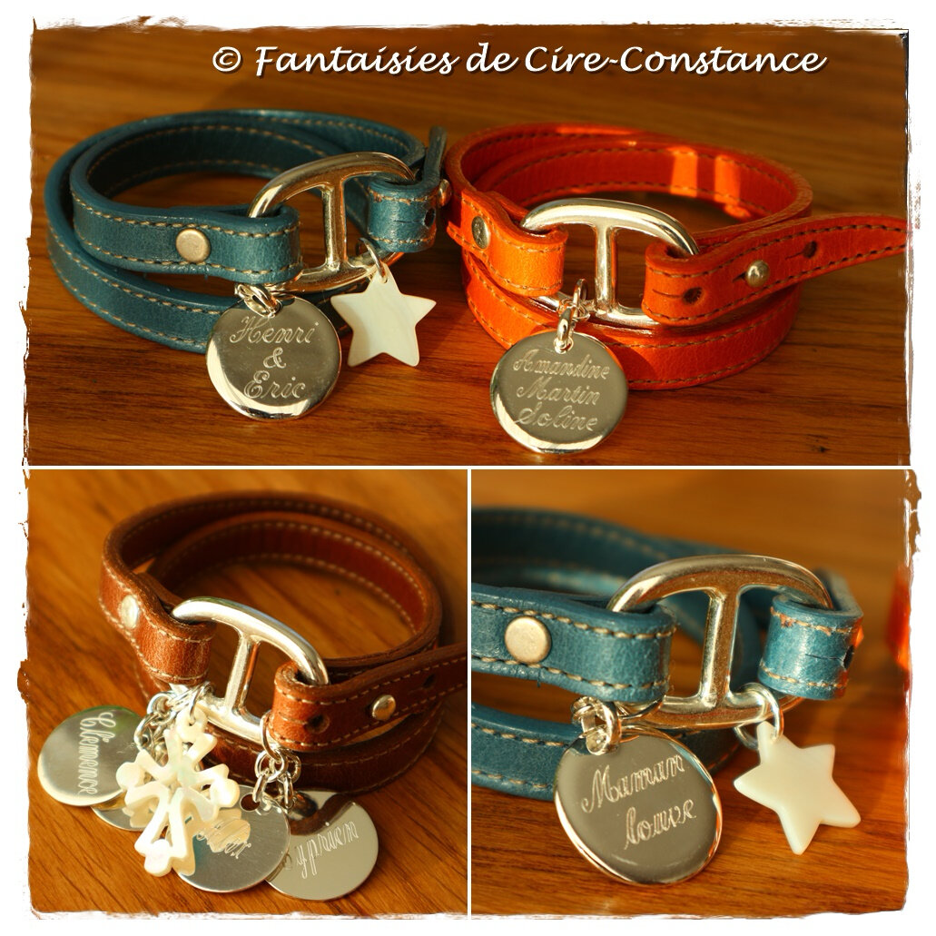 Belle Ile bleu orange marron