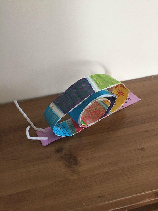 activité-manuelle-enfant-enfants-escargot-petit-peinture-fabriquer-réaliser-collage-3D-rigolo-rapide