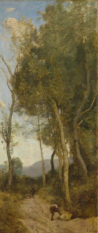 Jean-Baptiste-Camille Corot, 'The Four Times of Day Noon', about 1858
