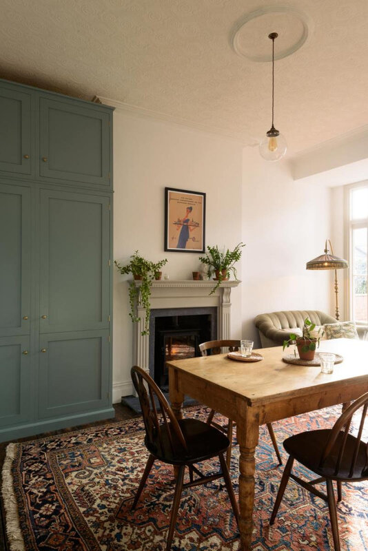 cuisine_campagne_chic_mint_arche_entree_madame_decore_salle_a_manger_tapis_chine