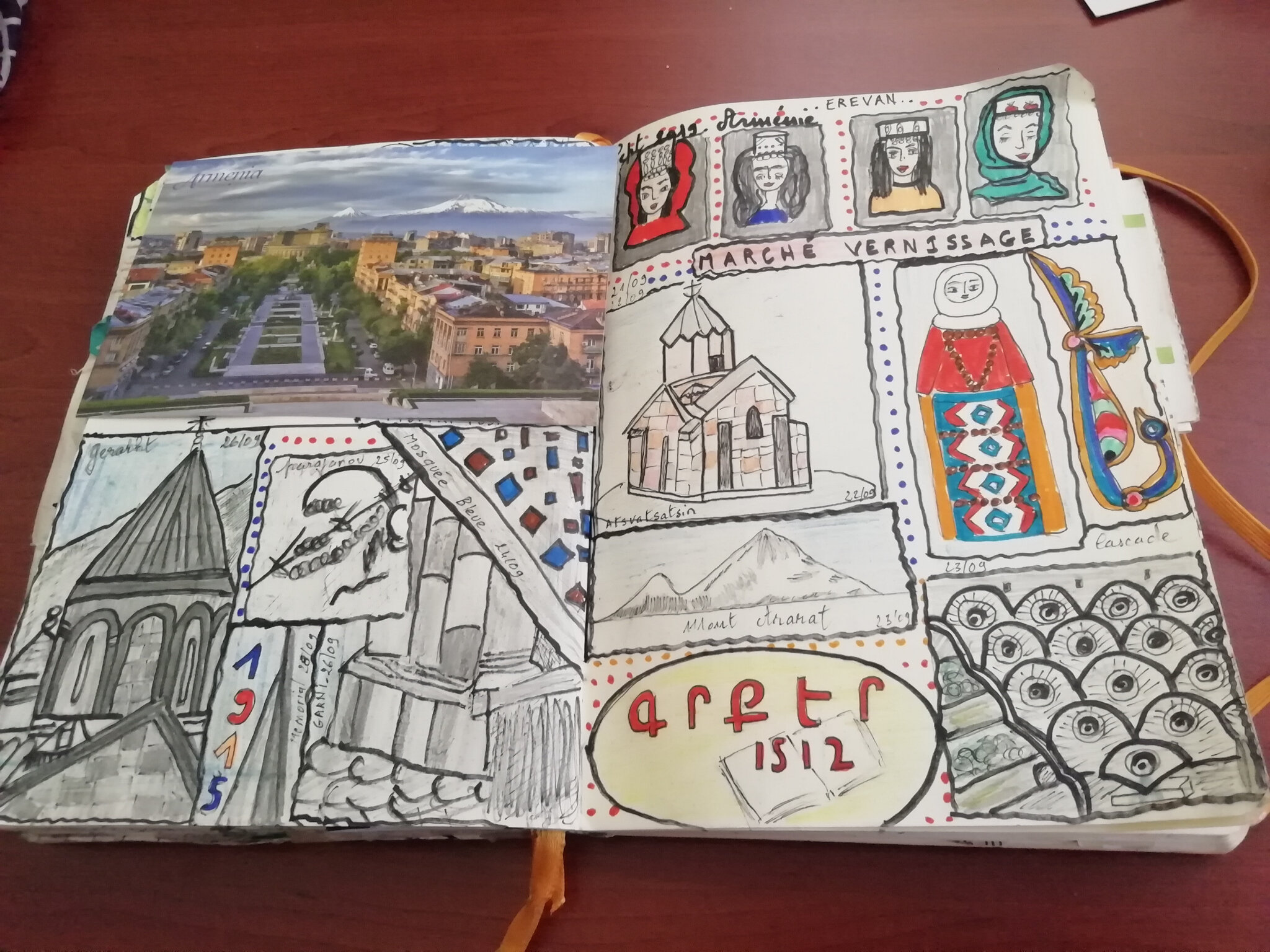 Le Bullet journal de septembre