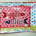 Poisson rouge et poisson bleu