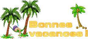 Bonnes vacances 1