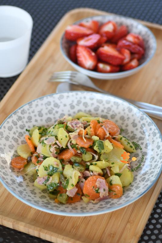 Salade de pommes de terre, carottes, cornichons & câpres_3