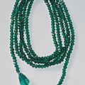 Sautoir Cravate - Bracelet Manchette - Ceinture - Headband avec perles Swarovski