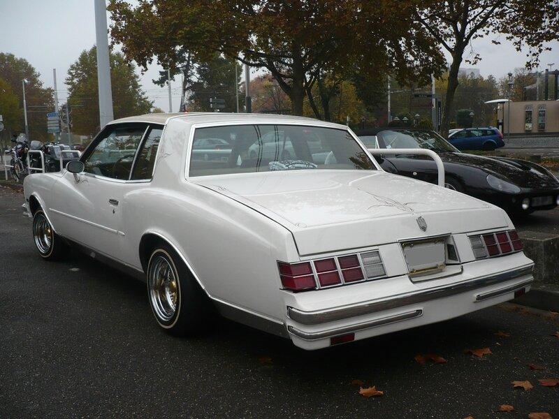 CHEVROLET Monte Carlo 2door coupé 1979 Strasbourg (2)