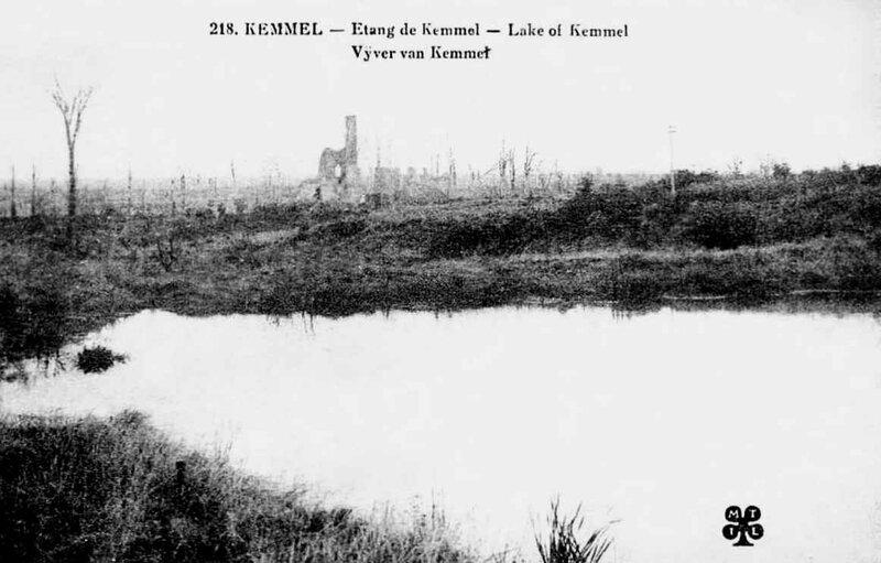 Kemmel étang