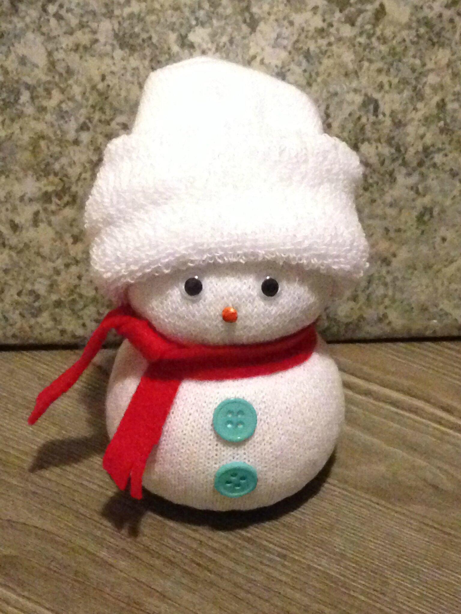 le bonhomme de neige chaussettes — cocagnetires