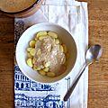 Sauce aux noix pour gnocchis