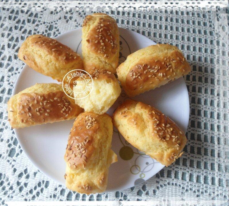 mini cakes au parmesan
