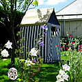 De la récup' aussi dans mon jardin +edit coulisses!!