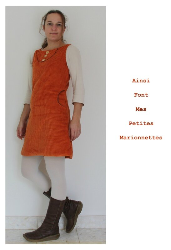 robe orange 5