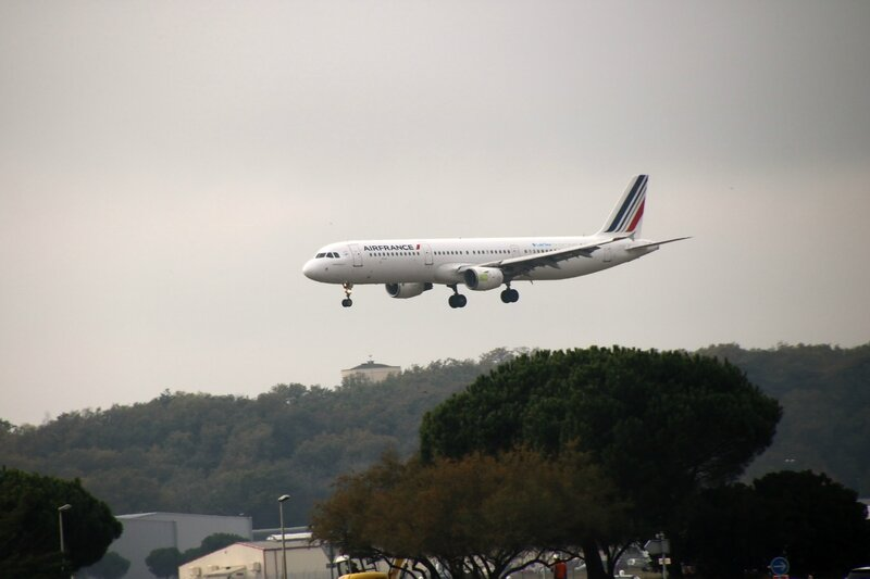 Airbus A321 d'Air France (Lab'line for the future)