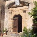 La porte du château, notre lieu de stage...