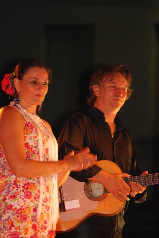 Danseuse et Musicien