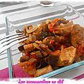 Colombo de poulet et ses légumes
