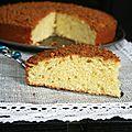 Gâteau à l'orange et spéculoos