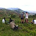 lunch break in ari Ethiopia trekking with abyss land Ethiopia