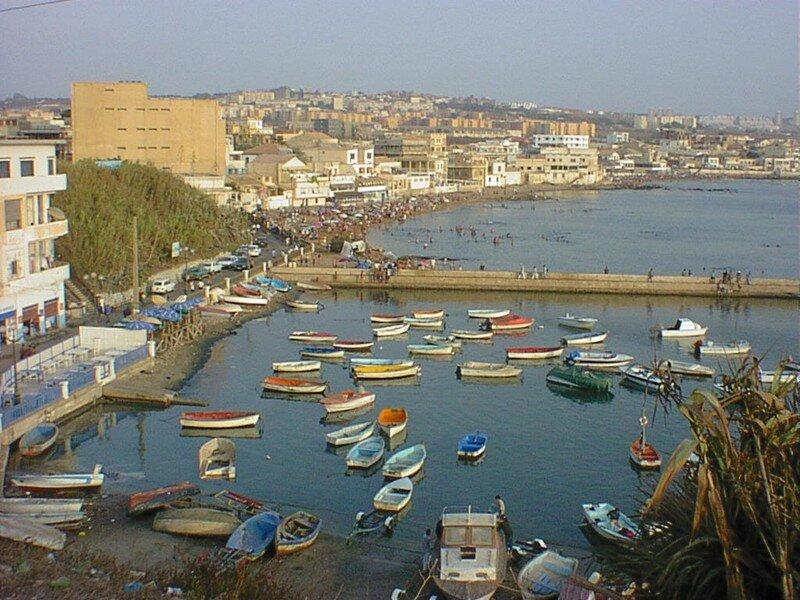 La madrague(avant travaux nouveau port)