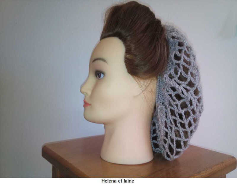 Snood hair gris6