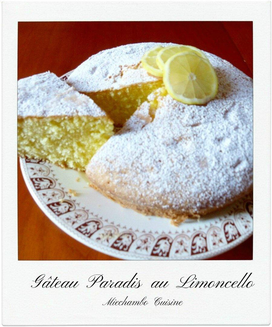 Gâteau Paradis au Limoncello