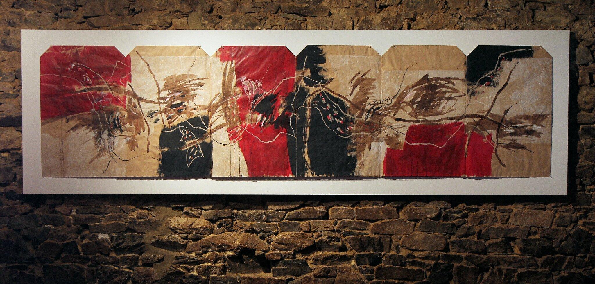 Sans titre 3 - papier youki 300 x 77 cm