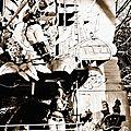 9999/30/12/2013 TOUR DE MANEGE A DUNKERQUE en noir et blanc
