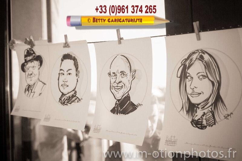 caricature dessins mariage anniversaire beaux arts dessinateur