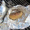Pommes de terre au barbecue, huile de cacahuètes