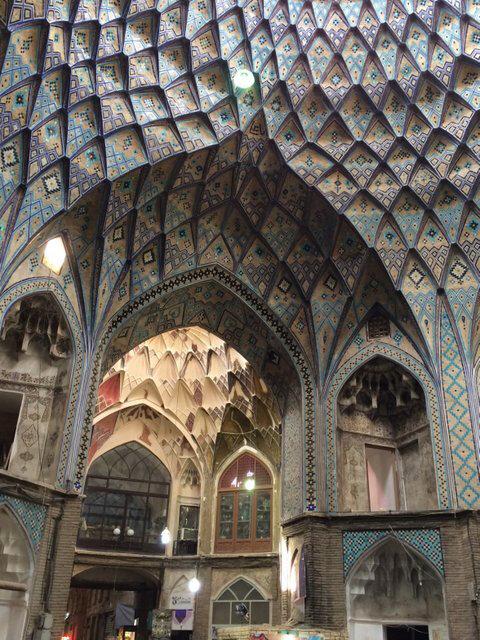 Iran Histoire Kashan Souk Amin-al Dowleh