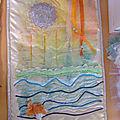 Mureile cauhape et l'atelier d'expression textile de serres-castet
