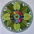 Mandala MORGANE 8 NATURE détail dec-jvier 2012 013