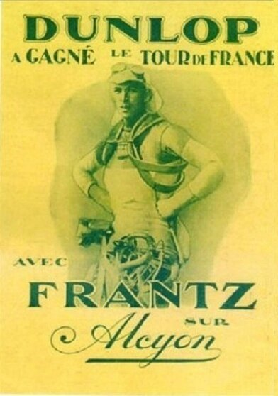 CPA Nicolas Frantz Tour de France