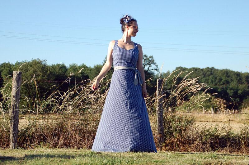 Maud robe longue bapteme M 10