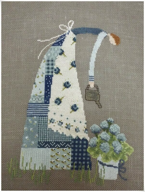 Patchwork lady 2